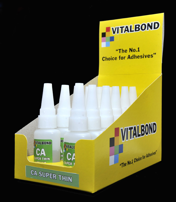 Vitalbond Super glue - Superthin 20g Bottle