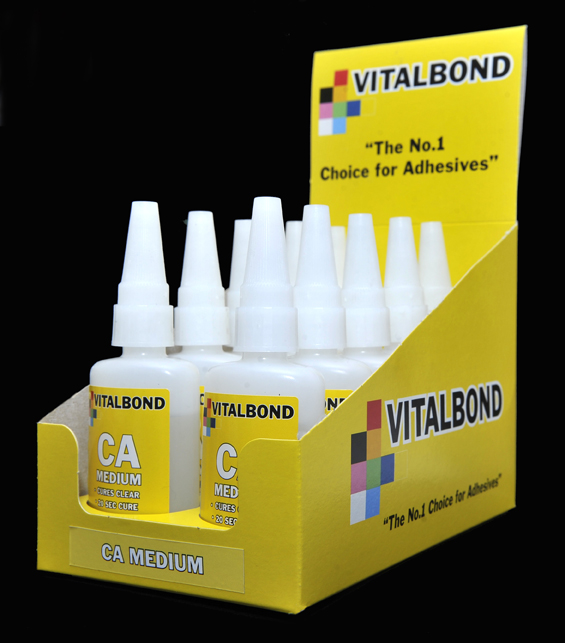 Vitalbond Super glue - Medium 50g Bottle