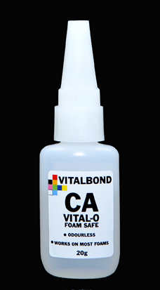 Vitalbond Super Glue Foam Safe 20g Bottle Odourless
