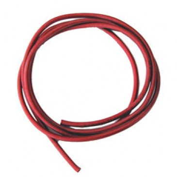 12AWG (4MM) RED SILICONE WIRE 1 MTR