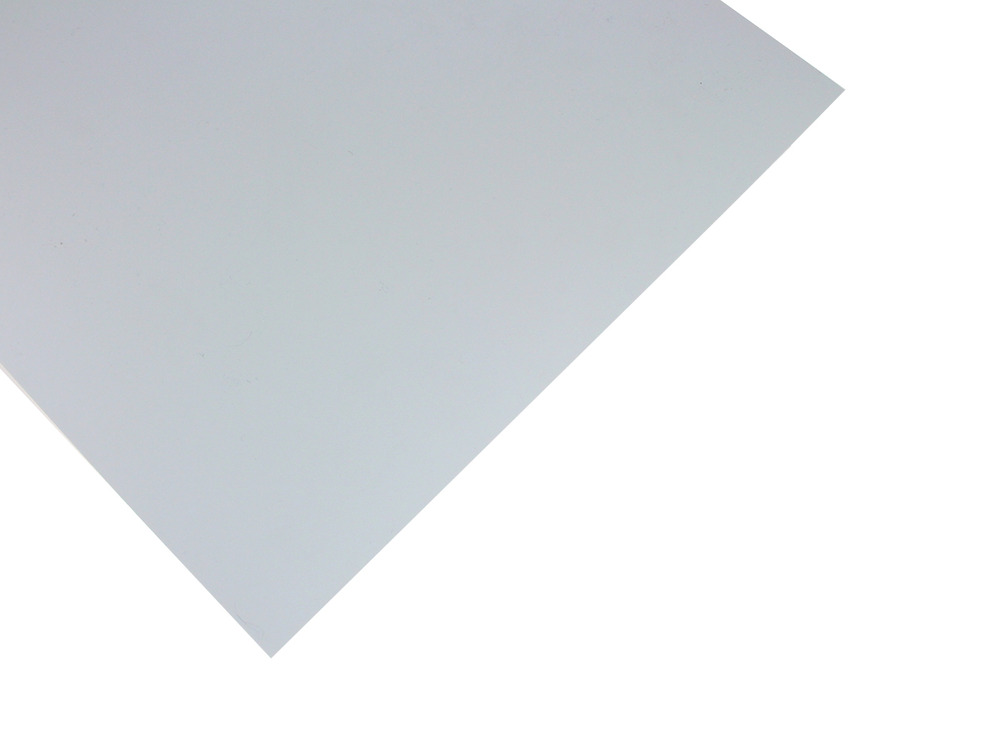 0.13mm White Styrene Sheet (3Pk)