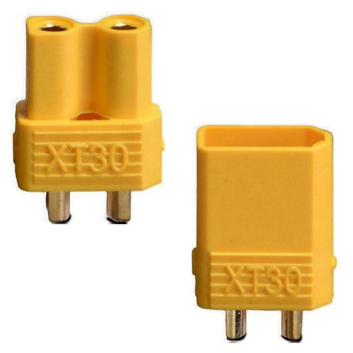 XT30 Connector Set with Heat shrink (2prs)