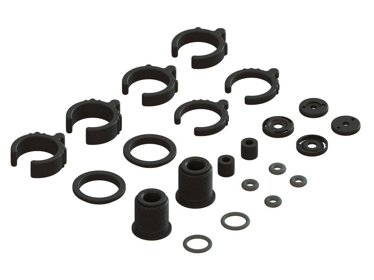 Composite Shock Parts/O-Ring Set (2)