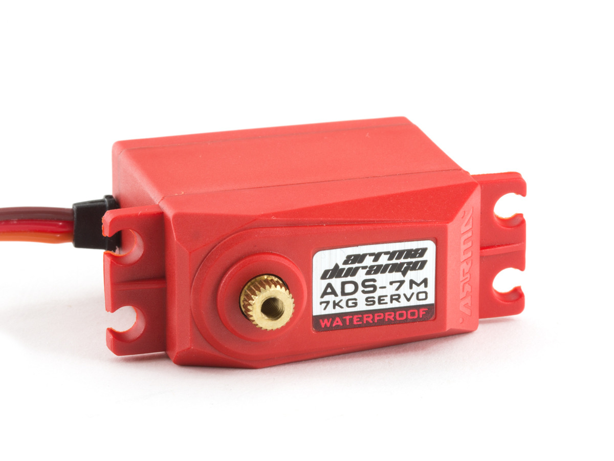 ADS-7M V2 6.5kg Waterproof Servo Red