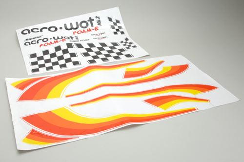 Ripmax AcroWot Foam-E - Decal Set