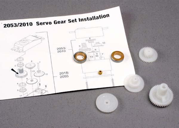 Gear set (for 2018 servos)