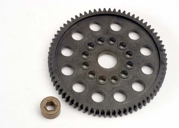 Spur gear (70-Tooth) (32-Pitch) w/bushing