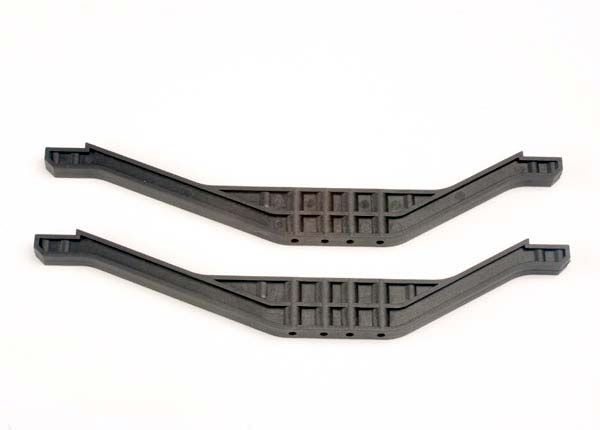 Chassis braces, lower (2) (black)
