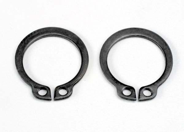 Rings, retainer (snap rings) (14mm) (2)