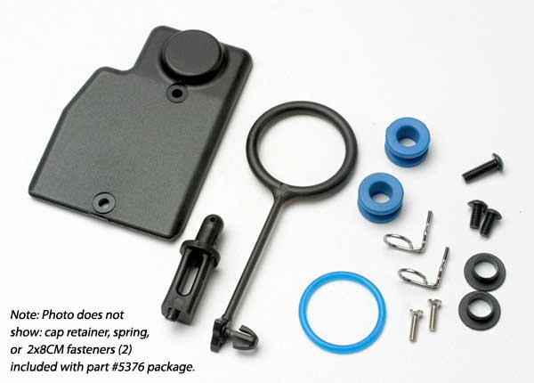 Rebuild kit, fuel tank (includes: mounting post, grommets (2)