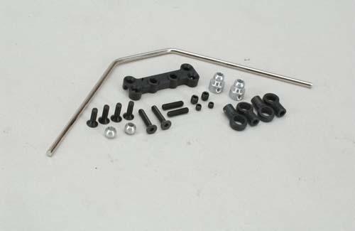 XTM Racing Rear Sway Bar Parts - All XT2/Rail