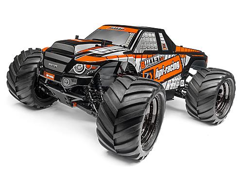 HPI BULLET Monster Truck Nitro 3.0 RTR (2.4GHZ)