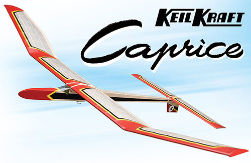 Keil Kraft Caprice Kit - 51in Free-Flight Towline Glider