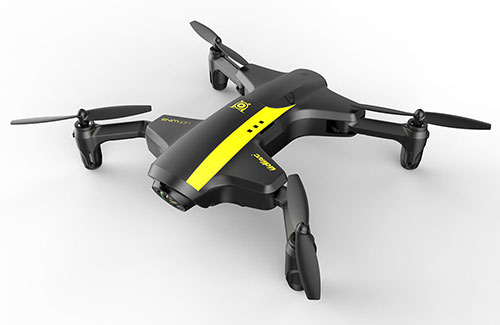 Udi U29 UDI-Wing RTF - Folding Drone with WiFi, Tx & UVR-2 FPV Goggles