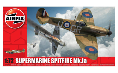 Airfix Supermarine Spitfire Mk.Ia 1:72nd Scale