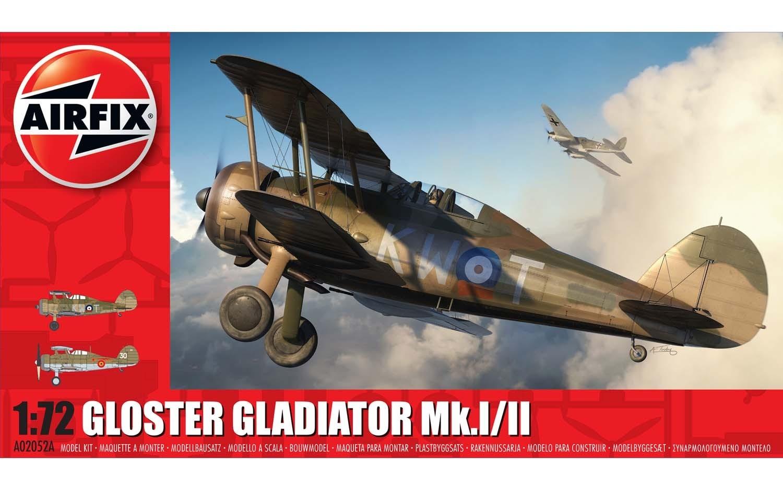 Airfix Gloster Gladiator Mk.I/II 1:72 nd Scale