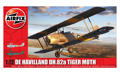 Airfix De Havilland DH82a Tiger Moth 1:72 scale