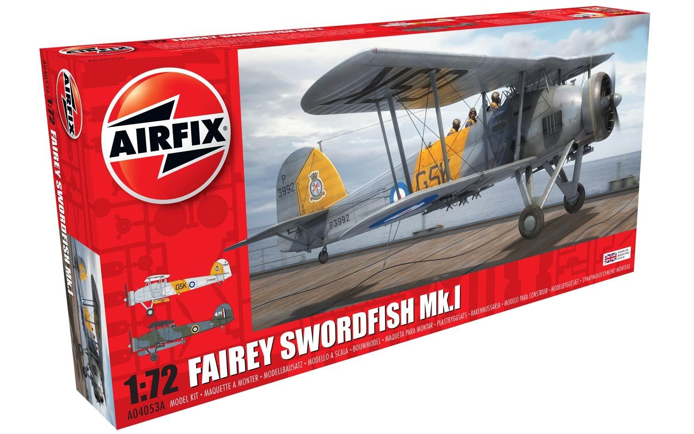 Airfix Fairey Swordfish Mk.I 1:72 scale