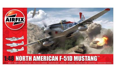 Airfix North American F-51D 1:48 Scale