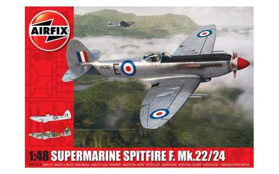 Airfix Supermarine Spitfire F.Mk.22/24 1:48 Scale