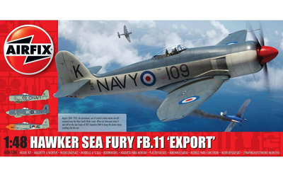 Airfix Hawker Sea Fury FB.II Export 1:48 Scale
