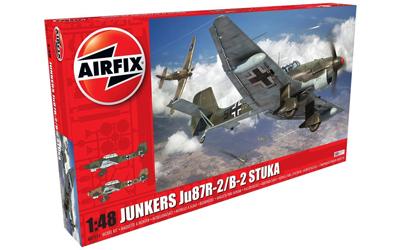 Airfix Junkers JU87B-2/R-2 1:48 scale