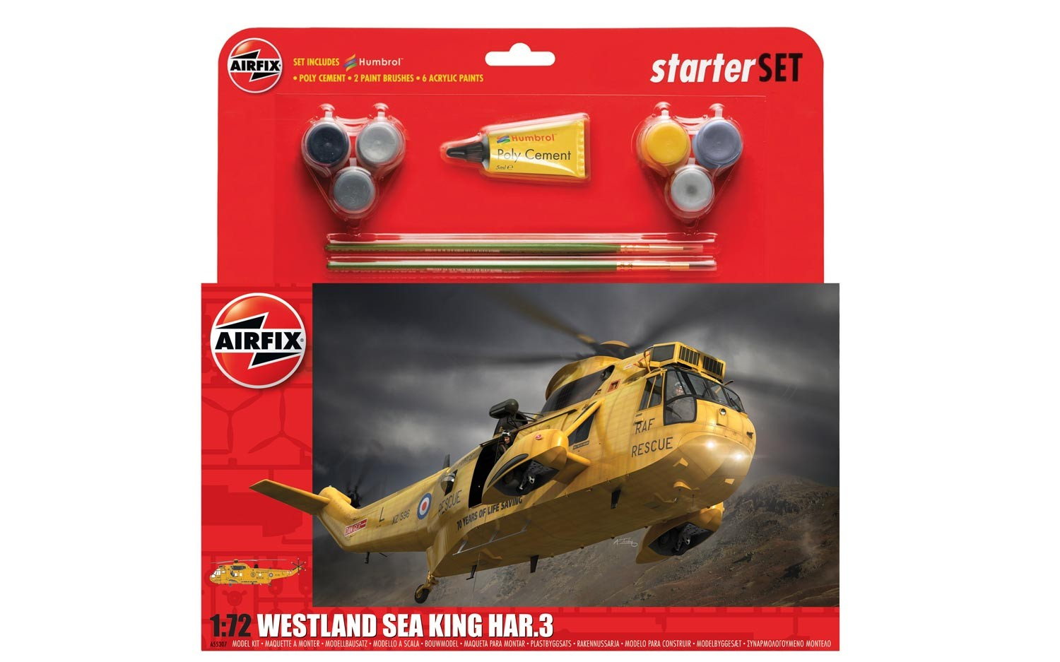 Airfix Westland Sea King HAR.3 Starter Set 1:72