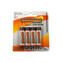 Premium Alkaline Batteries (AA) 4pack
