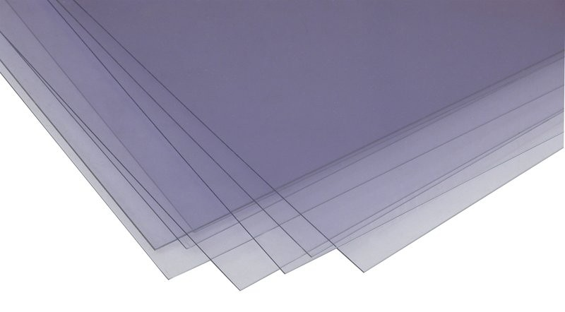 0.50mm Clear Plastic Sheet A4