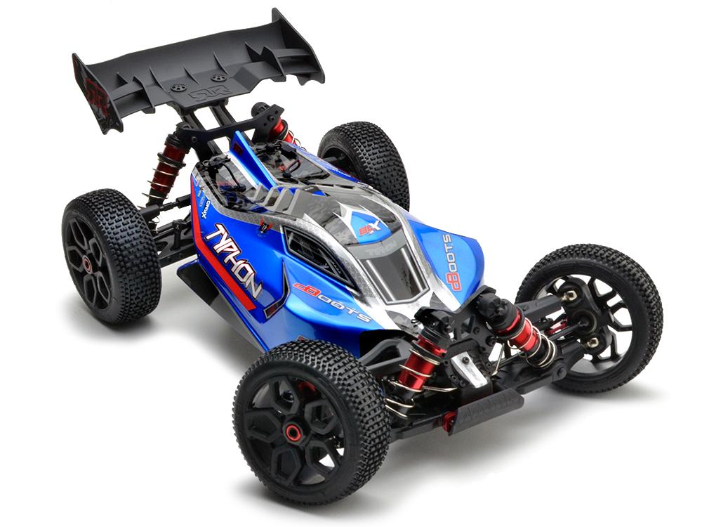 Arrma Typhon 6S BLX 4WD Buggy 1:8 RTR Blu/Slv 2018