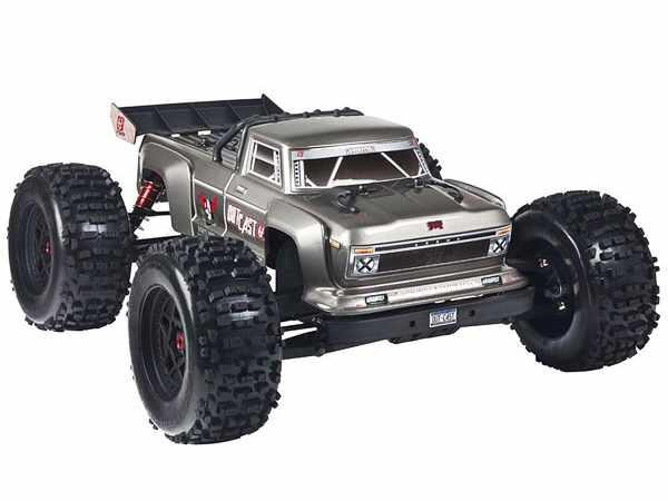 Arrma Outcast Stunt Truck 4WD 6S BLX 1:8 Silver 2018