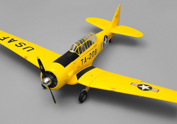 ART TECH AT-6A PNP YELLOW WITH RETRACTABLE LANDING GEAR