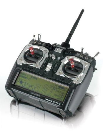 Aurora 9 2.4GHz 9ch RX & NiMH AFHSS Combo