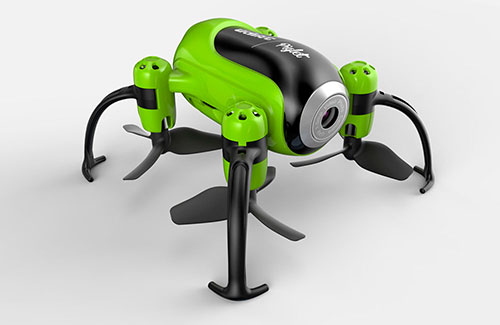 Udi U36W Piglet RTF - WiFi Mini Camera Drone (Green)