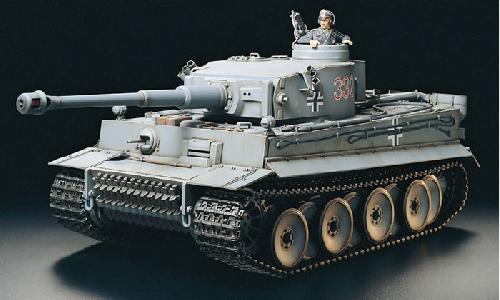 R/C Tiger I Early With Option Kit