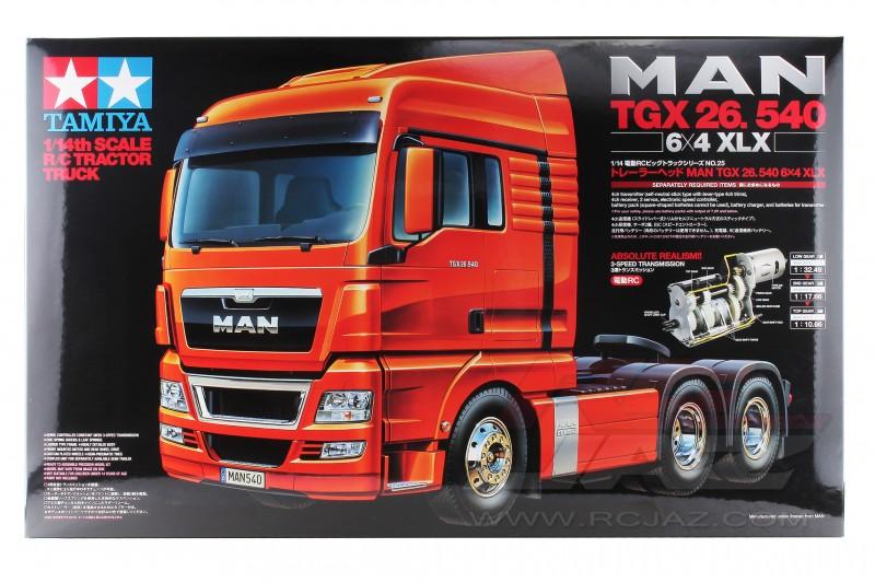 Tamiya Man TGX 26.540 6x4 XLX