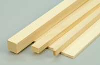 Basswood Strip 9.5 x 9.5 x 915mm (3/8 x 3/8 x 48inch