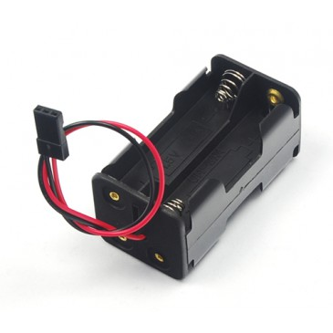 Battery box JR or Fut for 4 x AA cells