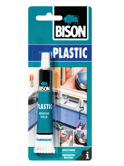 Bison Hard Plastic Adhesive 25ml