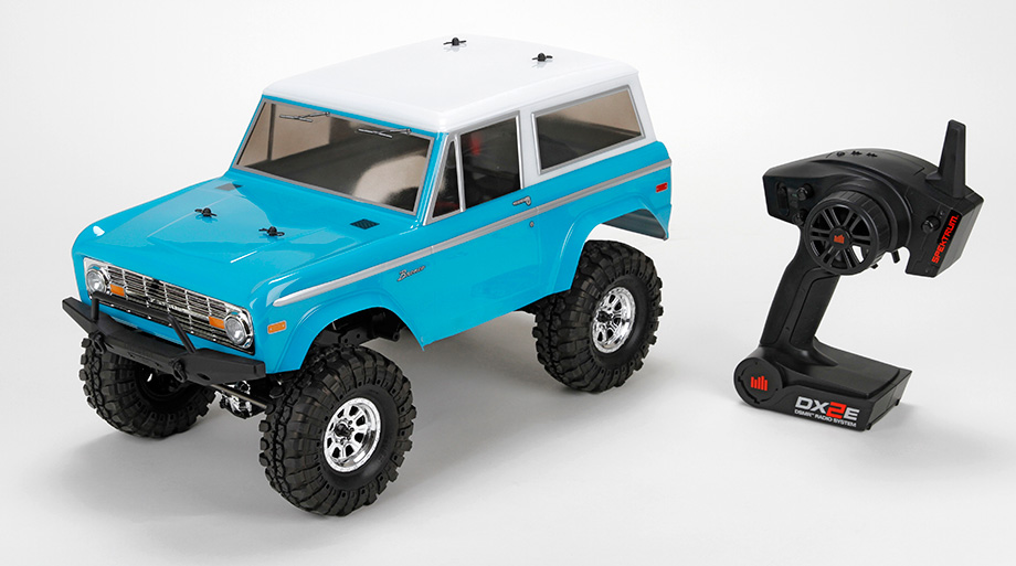 1972 Ford Bronco 4x4 Ascender 1:10 RTR