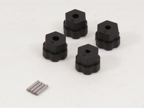 Plastic Hex Hub With Pin