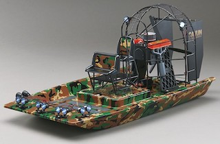 Cajun Commander Brushless Scale Airboat RTR