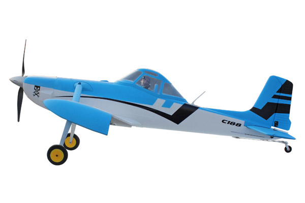 Dynam Cessna 188 1500mm ARTF Civilian Aircraft w/o TX/RX/Battery - Blue