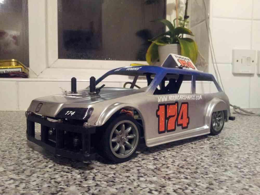 Kamtec Honda Civic ABS Body Shell V12 Banger
