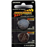 Lithium CR2025 Coin Cell (Button Cell) 3V