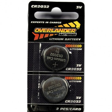 Lithium CR2032 Coin Cell (Button Cell) 3V (1)