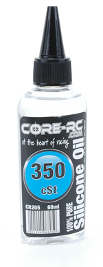 CORE RC Silicone Oil - 350cSt - 60ml