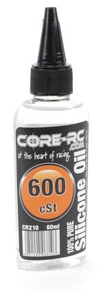 CORE RC Silicone Oil - 600cSt - 60ml