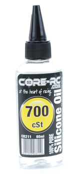 CORE RC Silicone Oil - 700cSt - 60ml