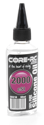 CORE RC Silicone Oil - 2000cSt - 60ml